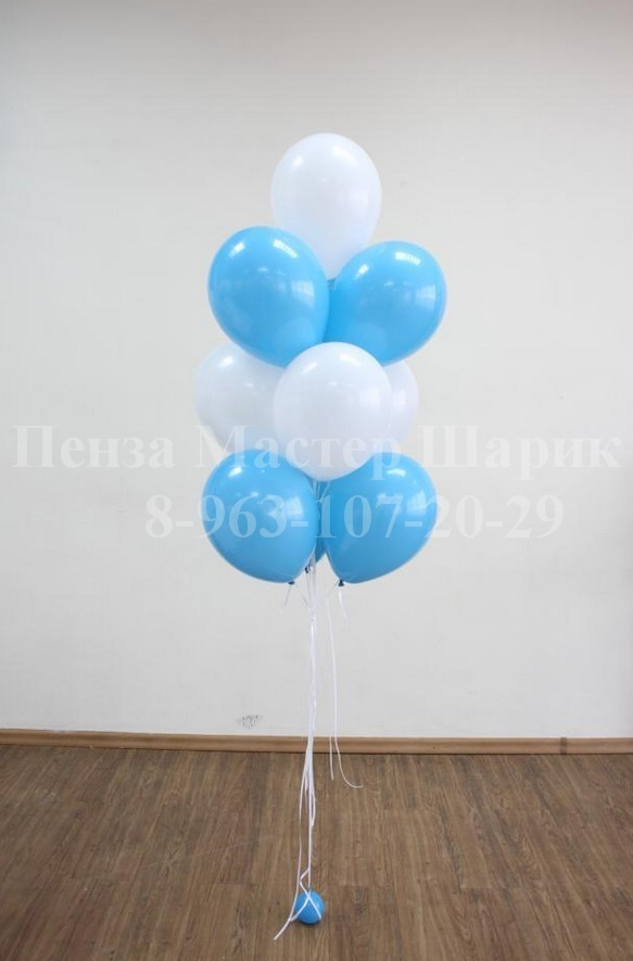 Связка воздушных шаров своими руками